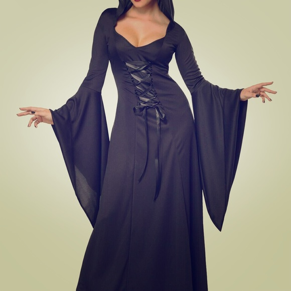 California Costumes Dresses & Skirts - California Costumes Deluxe Hooded Robe Black